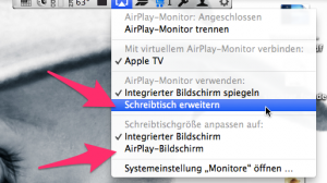 Airplay unter Mavericks